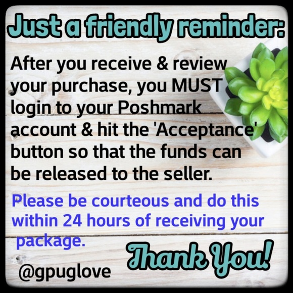 ⭐A reminder for buyers!⭐